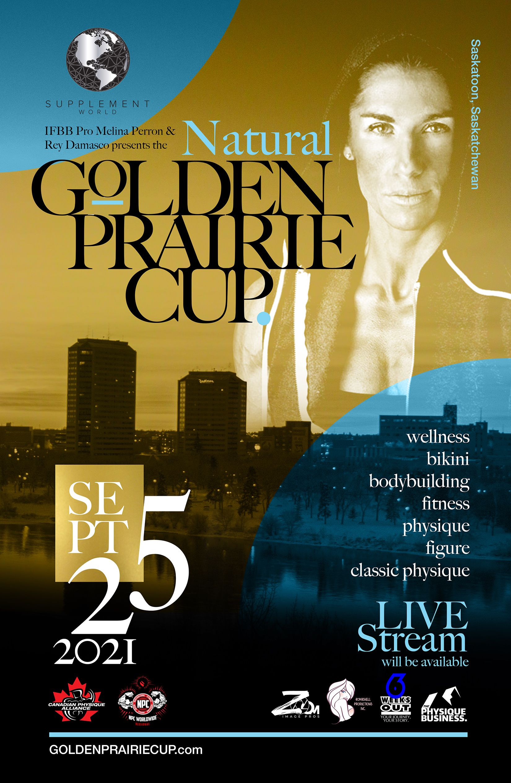 Golden Prairie Cup Poster